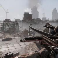 Homefront The Revolution arbalète dans ville en ruine