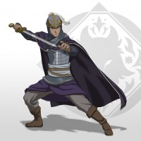 Le personnage Isfan de Arslan: The Warriors of Legend