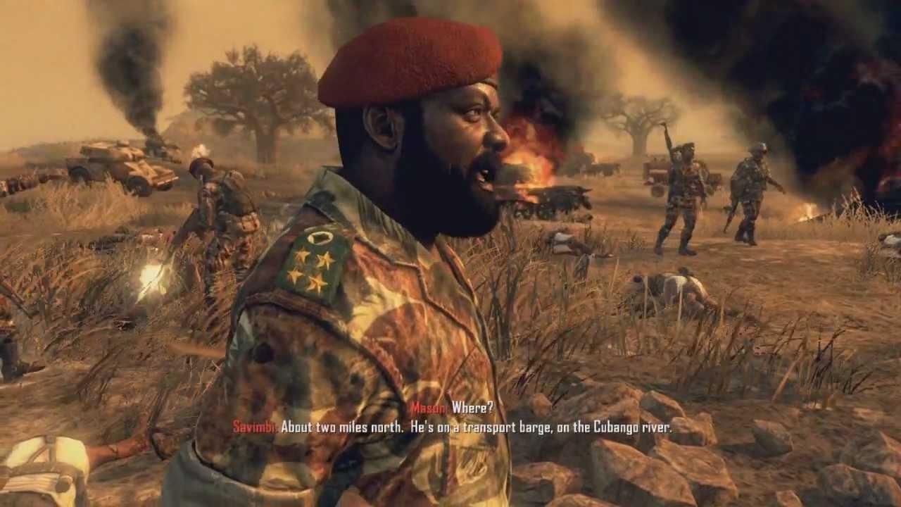 Jonas Savimbi Black Ops II campagne solo Activision