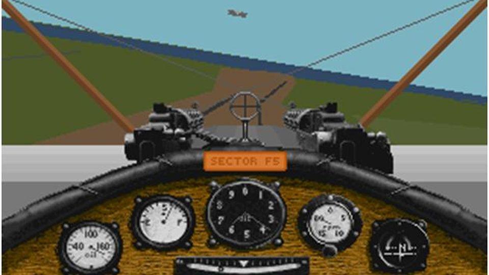 Red Baron cockpit