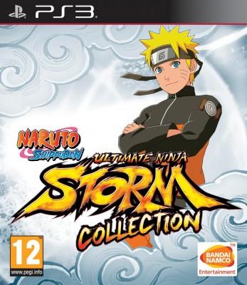 La jaquette PS3 de Naruto Shippuden: Ultimate Ninja Storm Collection