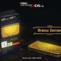 New Nintendo 3DS XL Hyrule Edition Bundle