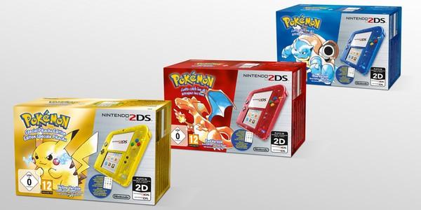 Nintendo 2DS pokémon 20 ans