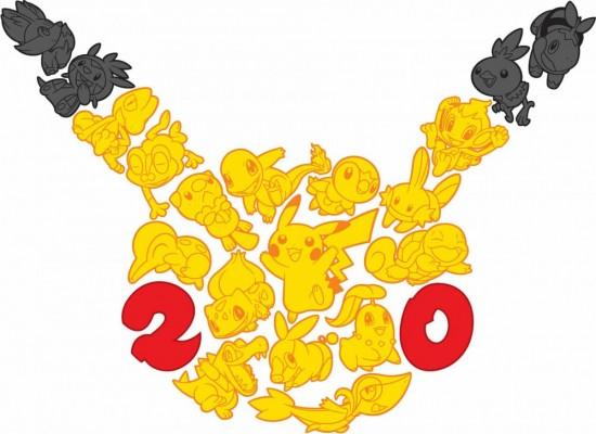 Logo Pokémon 20 ans