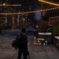 Tom Clancy's The Division jolie rue illuminée