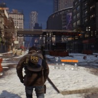Tom Clancy's The Division course dans la neige