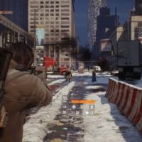 Tom Clancy's The Division visée avec une arme de poing