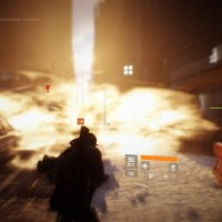 Tom Clancy's The Division explosion fumigène