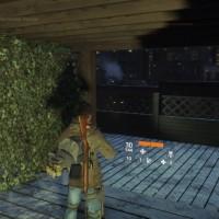 Tom Clancy's The Division personnage sur un toit