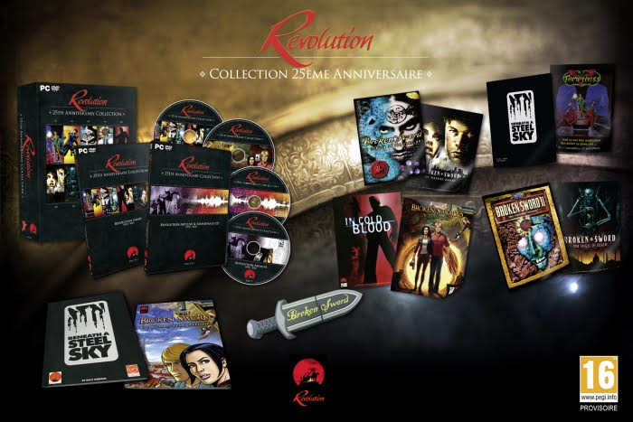 Revolution Collection contenu