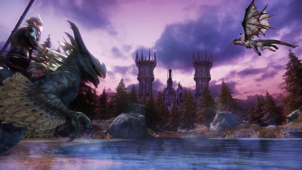 Riders of Icarus Dragons