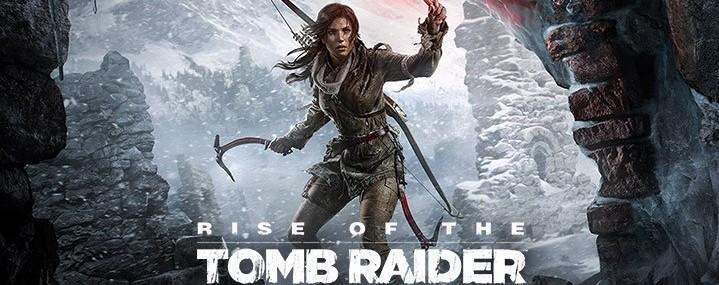 Lara Croft à l entrée d une grotte dans Rise of The Tomb Raider