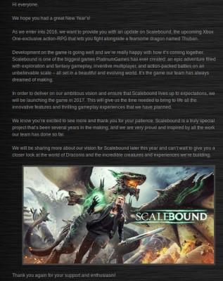 Communiqué Scalebound