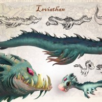 Song of the Deep Leviathan concept art