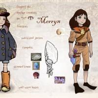 Song of the Deep Merryn concept art