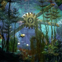 Song of the Deep sous marin anciennes ruines