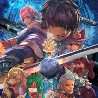Star Ocean: Integrity and Faithlessness artwork avec personnages principaux
