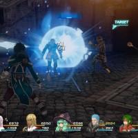Star Ocean: Integrity and Faithlessness attaque groupée en plein combat