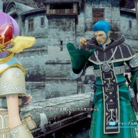 Star Ocean: Integrity and Faithlessness dialogue entre deux personnages 2
