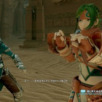 Star Ocean: Integrity and Faithlessness dialogue entre deux personnages