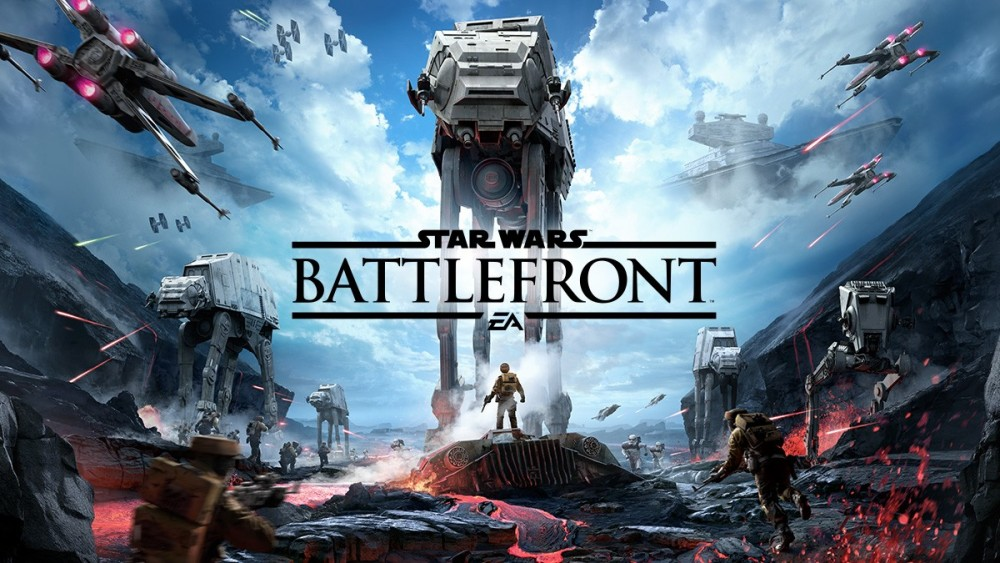 Affiche Star Wars Battlefront