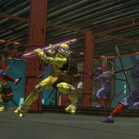 TMNT: Mutants in Manhattan Donatello et Rafaello aux prises avec des hommes de main de Shredder