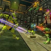 TMNT: Mutants in Manhattan Les 4 tortues aux prises avec Rocksteady dans une banque