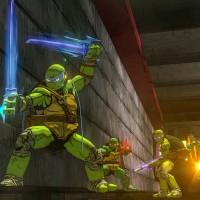 TMNT: Mutants in Manhattan les 4 tortues prennent la pose dans le métro