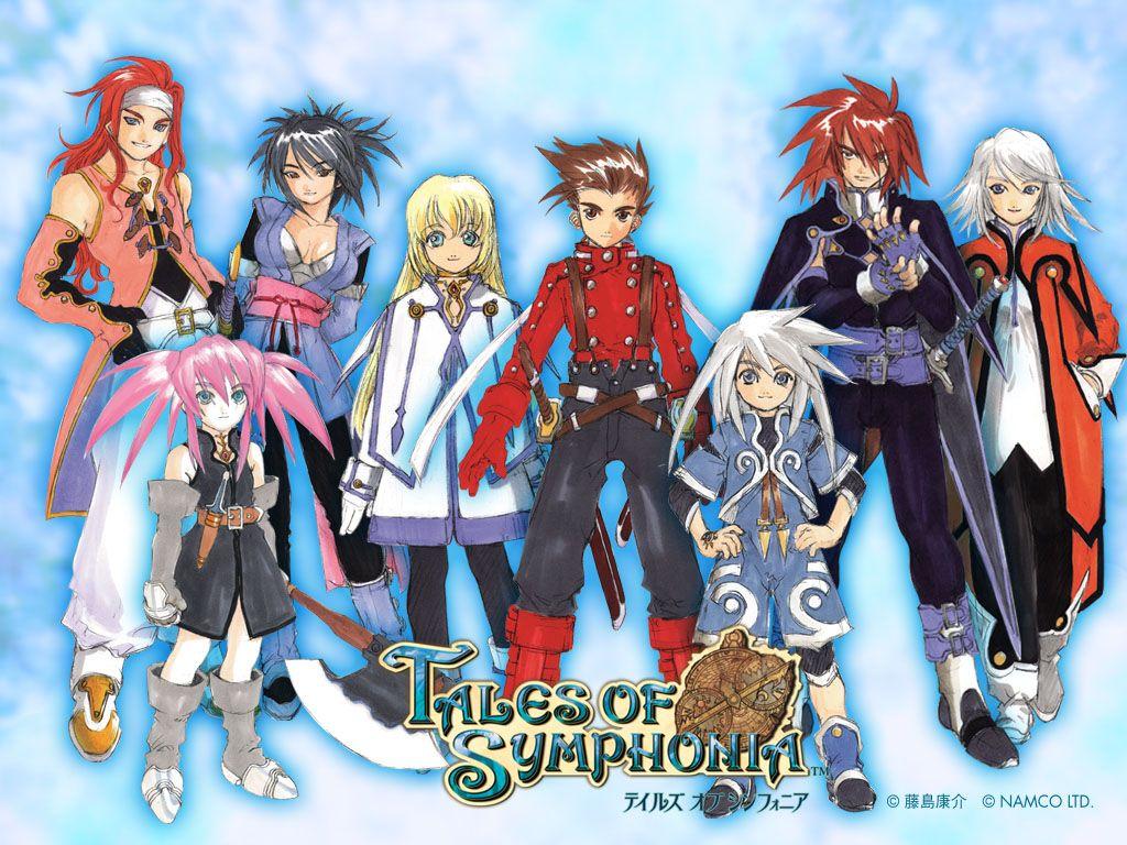 Les héros de Tales of Symphonia