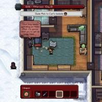 The Escapists The Walking Dead Hershel discute avec Rick dans une maison