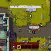 The Escapists The Walking Dead attaque de zombis hors de l'hôpital
