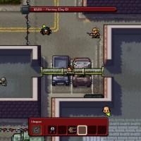 The Escapists The Walking Dead le Héros marche sur les toits pour éviter les gardes