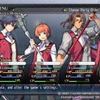The Legend of Heroes Trails of Cold Steel menu camp