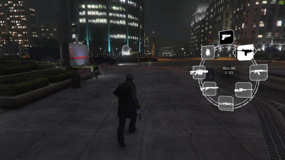 GTA V mod Watch Dogs screen promo