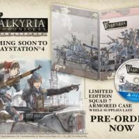 Valkyria Chronicles Remastered édition limitée avec steelbook