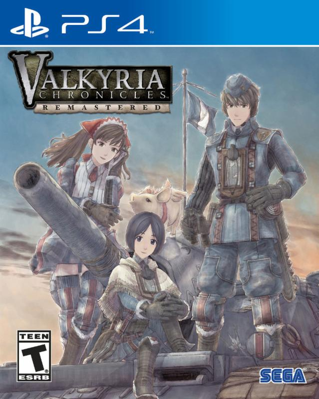 Valkyria Chronicles Remastered jaquette PlayStation 4