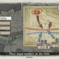 Valkyria Chronicles Remastered placement unités sur la carte de combat