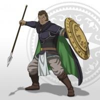 Le personnage Zaravant de Arslan: The Warriors of Legend