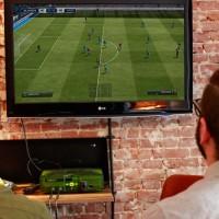 Tournoi de FIFA sur xbox à l'Arcade Hotel