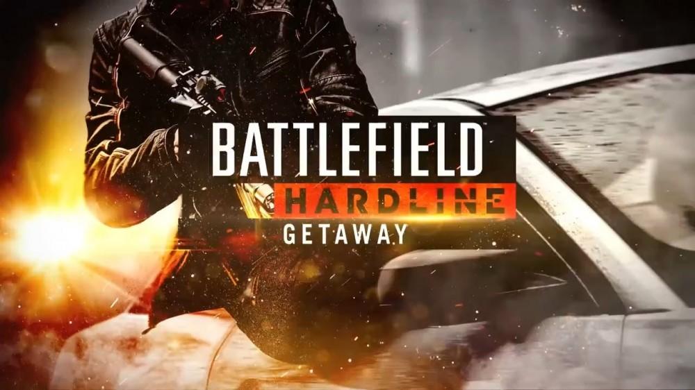 Braqueur tirant de sa voiture dans Battlefield Hardline : La Fuite