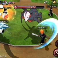 Bleach: Brave Souls combat contre un boss