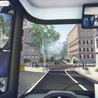 Au volant du bus dans Bus Simulator 16