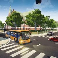 Votre bus à une intersection dans Bus Simulator 16