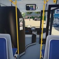 A l'intérieur d'un bus de Bus Simulator 16