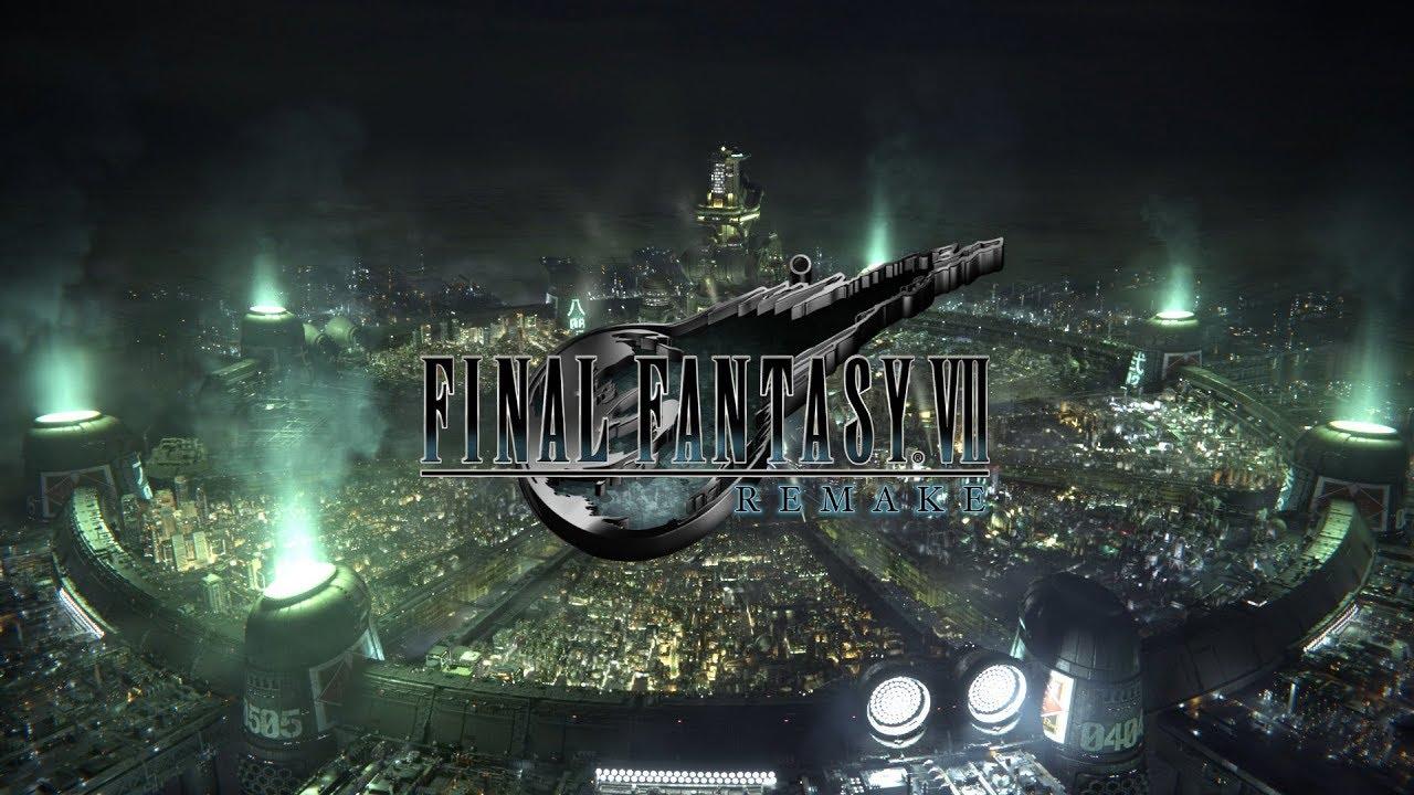 final fantasy VII Remake reveal logo
