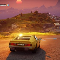 Just Cause 3 course au volant d'un bolide