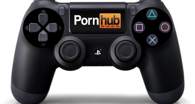 Manette PlayStation 4 PornHub