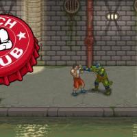 Punch Club combat contre un croco façon tortue ninja