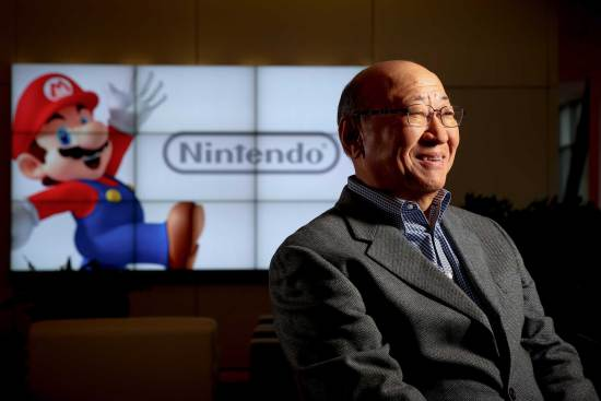 Tatsumi Kimishima, le nouveau président de Nintendo