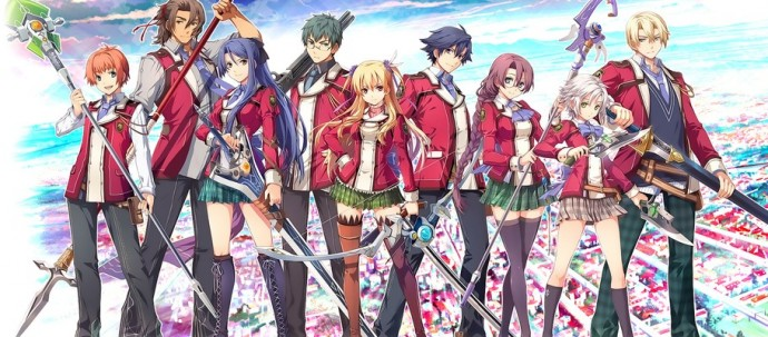 Toute la bande de The Legend of Heroes: Trails of Cold Steel